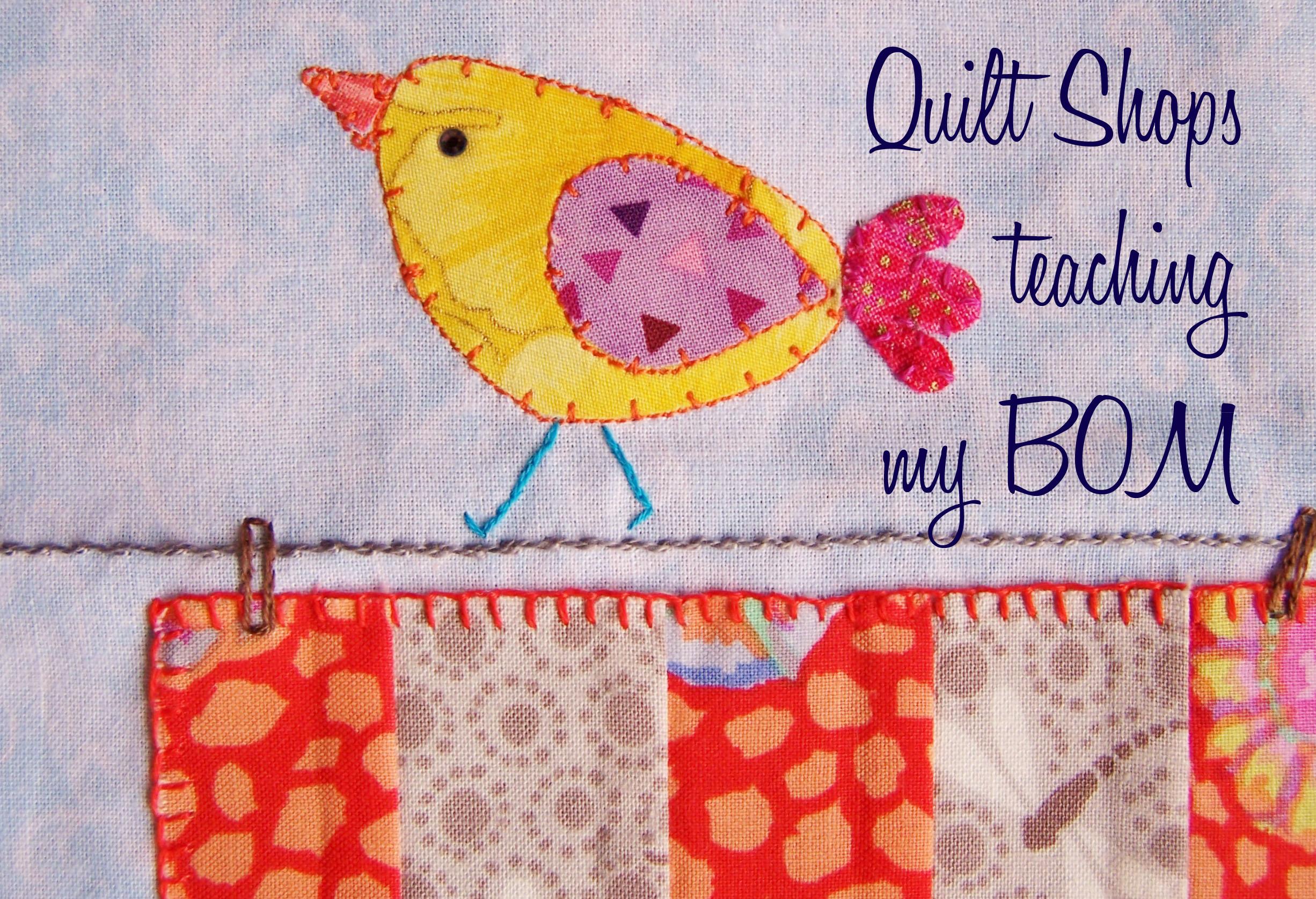 quilt shop classes