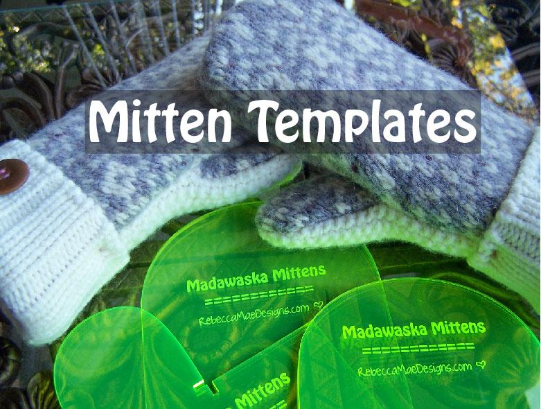 Pics Photos - Sweater Mitten Printable Pattern Wool