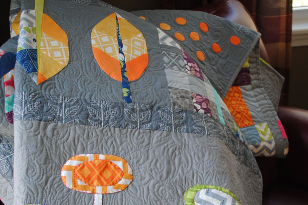 row robin quilt #iQuilt