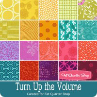 turn up the volume fabric bundle