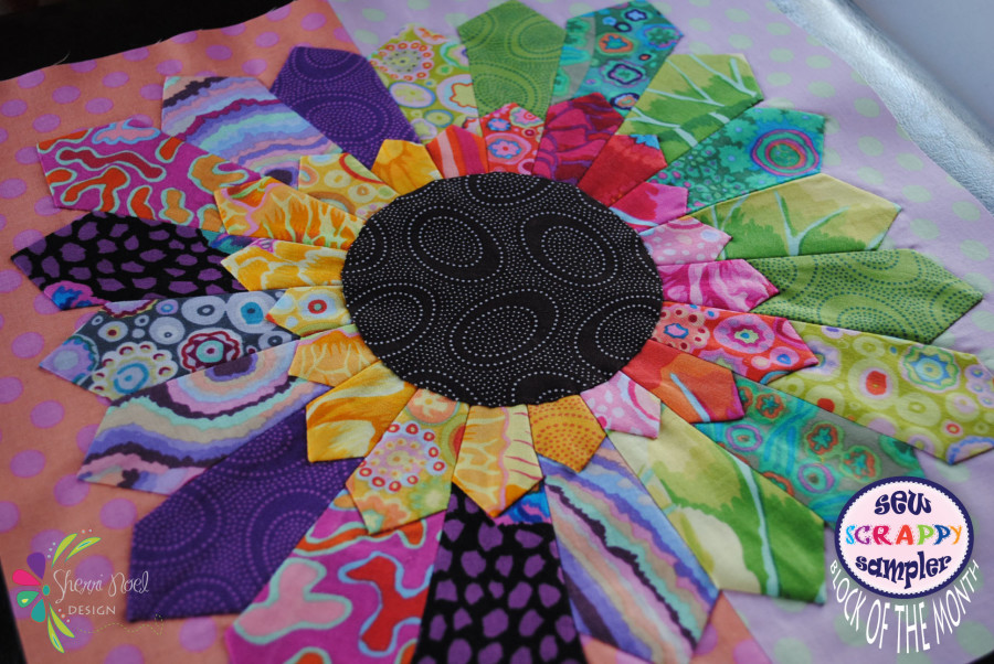 sew scrappy block 2