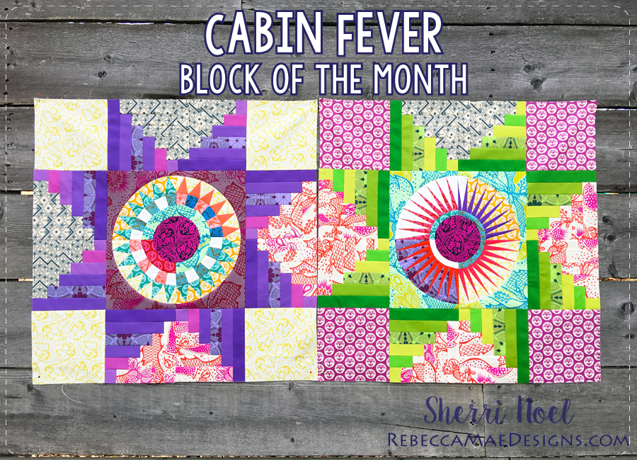 Cabin Fever Block Of The Month Quilt 40 Mesmerizing Block Of The Month Quilt Patterns
