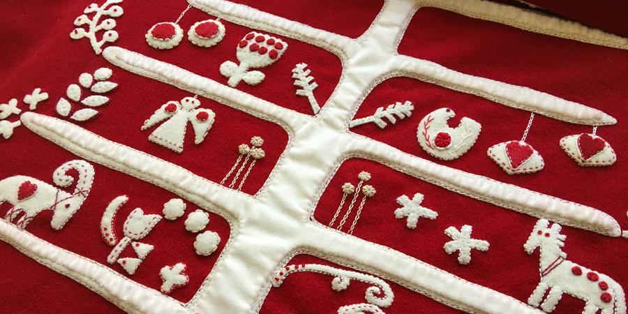 Jul i scandinavia christmas quilt a long