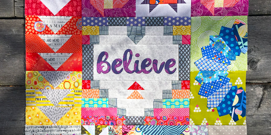 dear daughter block of the month